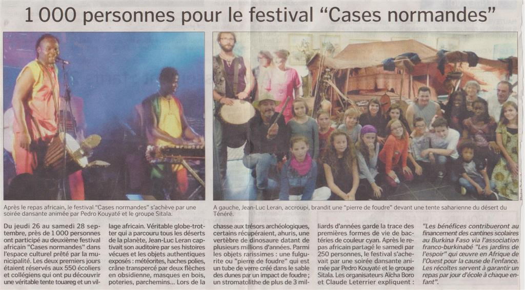 Festival Cases Normandes
