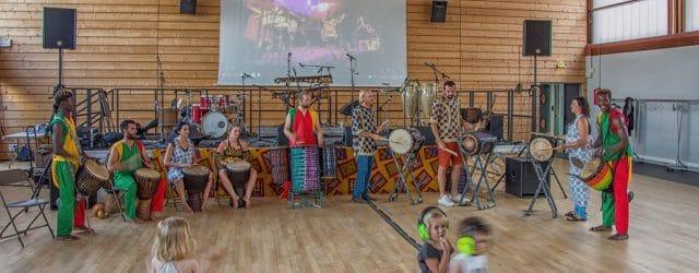 Reprise des ateliers de djembé et doum à Theix-Noyalo